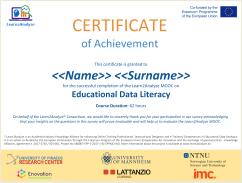 L2A Certificate Template